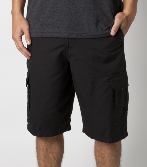 Surf O'Neill Outlaw Walkshorts.  70% Cotton / 30% Nylon.  Yarndye dyna twill walkshort with enzyme / silicone / stonewash. Standard cargo fit. Large side and back pockets; coin pocket; contrast interior fabrics; with logo embroidery. - $49.50