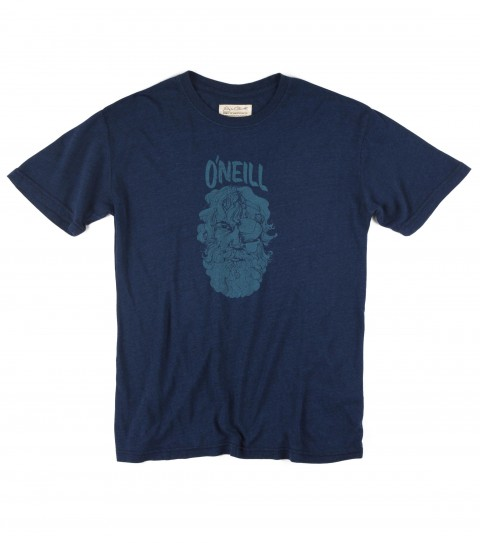 Surf Jack O'Neill Advert Tee.  50% Cotton / 38% Poly / 12% Rayon.  Tri-blend tee shirt with softhand screenprint. - $29.50