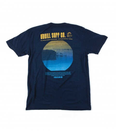 Surf O'Neill Leaflet Tee.  50% Cotton / 38% Poly / 12% Rayon.  Tri-blend tee with softhand screenprint. - $17.99