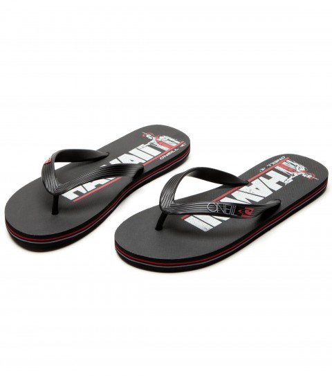 Entertainment O'Neill Hawaii sandals with tpu upper; raised logo on strap; eva footbed with logo screenprint on heel; and clean & mean outsole. - $10.99