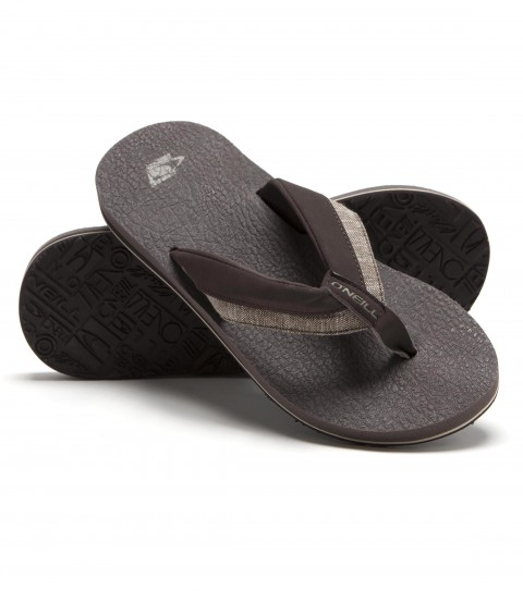 Entertainment O'Neill sandals with brushed synthetic nubuck upper; brushed nubuck lining; water friendly tpu molded footbed; anatomically constructed arch support; and rubber outsole. - $23.99