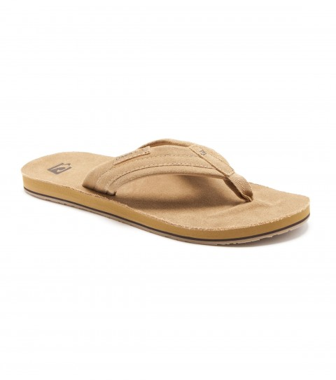 Entertainment O'Neill mens sandals with soft suede leather upper and footbed; debossed logos; anatomically constructed arch and heel support; and rubber outsole. - $23.99