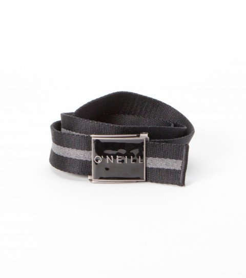 Surf O'Neill 100% cotton webbing belt with debossed logo tipping and custom molded buckle with bottle opener. - $15.99