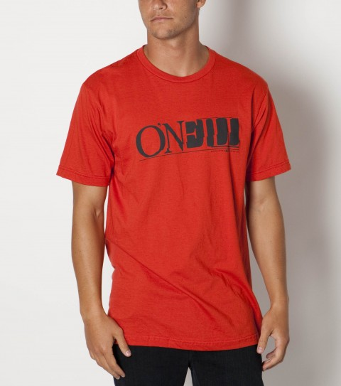 Surf The O'Neill Vantage tee is made of 100% ringspun cotton; prewashed slim fit tee with softhand screenprint and attached hem label. - $22.00