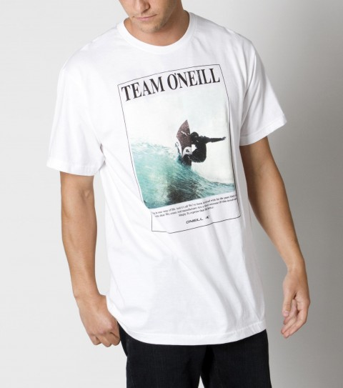 Surf The O'Neill Masterpiece tee is made of 100% ringspun cotton; prewashed slim fit tee with softhand screenprint. - $22.00