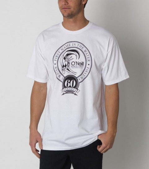Surf The O'Neill 60th Anniversary tee is a must have!! - $19.50
