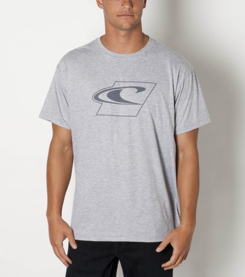 Surf O'Neill 100% ringspun cotton; 20 singles basic fit tee shirt with softhand screenprint. - $29.50