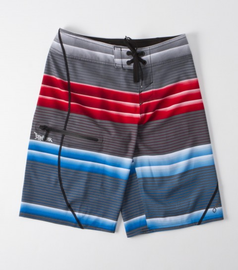 Surf O'Neill Boys Jordy Freak Boardshorts.  New and improved hyperfreak stretch; engineered printed boardshort; super fly 2.0 closure; locking drawcord; welded pocket and hem; screened logos. - $35.99