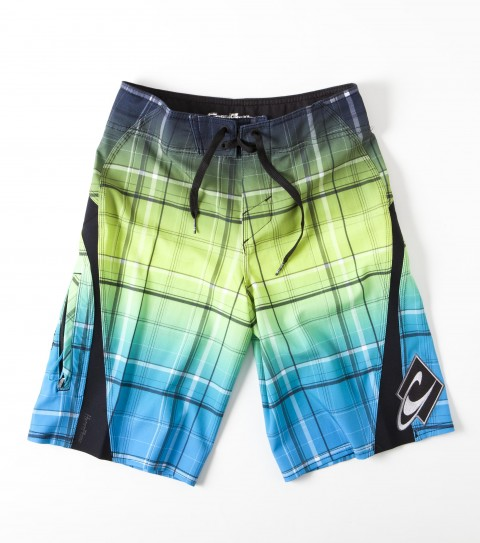Surf O'Neill Boys Triumphfreak Boardshorts.  New psychostretch.  Printed boardshort with hyperprene stretch panels; superfly 2.0 closure; locking drawcord; welt zip pocket; embroidered; appliqued and screened logos. - $35.99