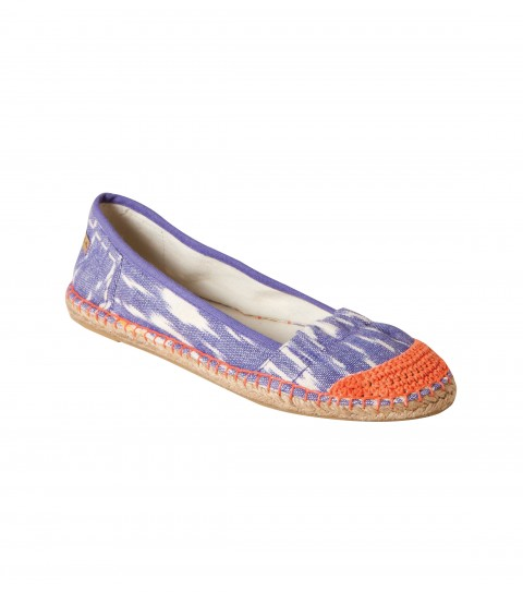 Surf O'Neill Lolly Shoes.  Printed or novelty fabric slip-ons; contrast stitch detail; espadrille midsole; custom rubber outsole. - $19.99