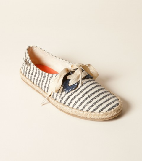 Surf O'Neill Scout Shoes.  Novelty fabric or rattan upper canvas lining; grosgrain laces; espadrille midsole; custom rubber outsole. - $27.99