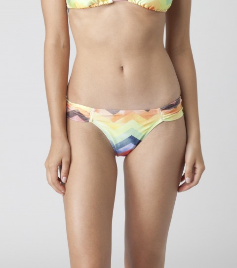 Surf PAINTED TAB SIDE O'NEILL SOLID TAB SIDE BOTTOMS Medium coverage solid tab side pant with colored lining. - $9.99