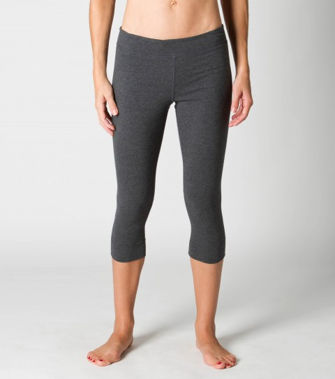 "Surf O'Neill 365 Practice Crop Legging.  Wicking technology pulls moisture from your skin; keeping you more comfortable and dry.  Fitted core capri; foldover waistband option; key pocket; low abrasion seams; 19"" inseam.Black - 89% Poly / 11% Elastane; Grey - 93% Poly / 7% Spandex - $28.99"