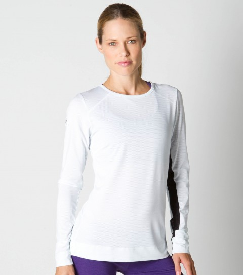 Surf O'Neill 365 Keen Longsleeve Top.  Odor resistant treated fabric resists bacterial odors.  Wicking technology pulls moisture from your skin; keeping you more comfortable and dry. 96% Micro poly / 4% Spandex.  Slim fit long sleeve; lightweight layer; darts and seams for perfect fit; fashion detail at upper back; reflective safety detail. - $38.99