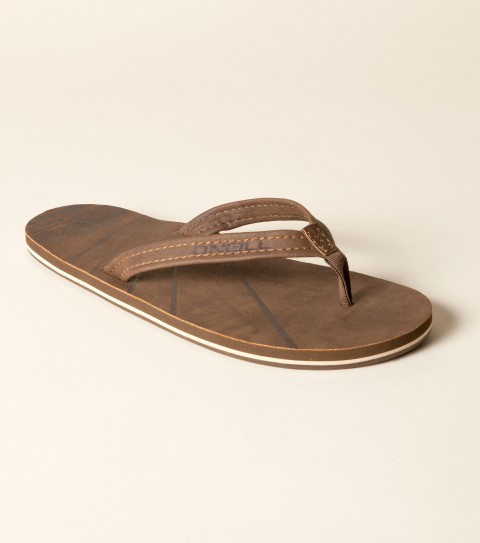 Entertainment O'Neill Icon Sandal.  Faux nubuck upper; faux nubuck footbed; embossed art; EVA midsole with contrast stripe; custom rubber outsole. - $18.99