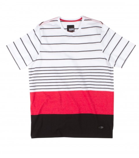 Surf O'Neill Visionary King of Freaks Shirt.  100% Cotton jersey. Yarn dye stripe polo with garment wash. Standard fit with logo labels. - $20.99