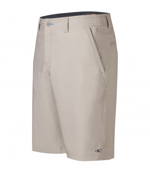 "Surf O'Neill Loaded Hybrid Shorts.  Epic stretch.  21"" outseam boardshort features zipper fly; internal waistband drawcord; front pockets with zippers; back pockets; embroidered and screened logos. - $24.99"