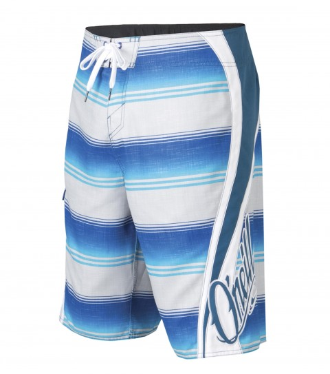 "Surf O'Neill Grinder Boardshorts.  Ultrasuede. 22"" outseam boardshort features contrast panels; comfort fly closure; side cargo pocket; appliqued; embroidered and screened logos. - $25.99"
