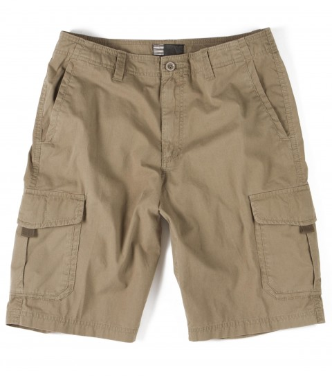 Surf O'Neill Rebel Shorts.  70% Cotton / 30% Nylon.  Variegated twill cargo short. Standard fit; bellow cargo pocket; contrast interior fabrics and logo embroidery and labels. - $24.99