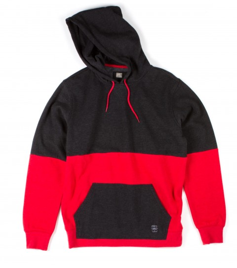 Surf O'Neill Bottlepass Hoodie.  80% Cotton / 20% Polyester.  Heathered fleece with garment wash. Standard fit; hooded pullover; piecedconstruction; kangaroo pocket; logo labels. - $43.99
