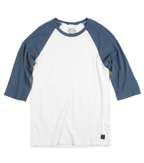 Surf O'Neill Renegade Baseball Tee.  100% Ringspun cotton.  30 singles modern fit raglan with attached label. - $23.99