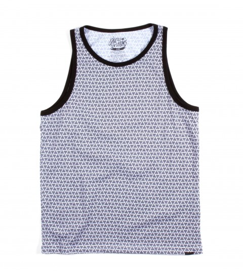 Surf O'Neill Arcade Tank.  50% Cotton / 50% Poly.  Sublimated tank with garment wash. Modern fit interior neck screen and front logo labeling. - $25.99