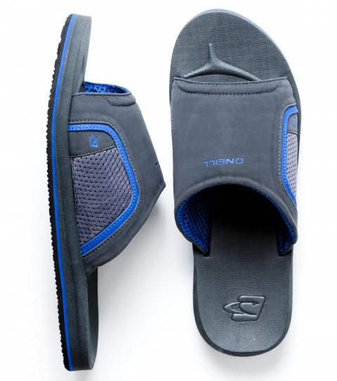 Entertainment O'Neill Clean and Mean Slide 2 Sandals.  Leather slide upper with mesh panels; airmesh lining; contoured compression; molded EVA footbed with arch support; screen printed logos; rubber sponge outsole. - $17.99