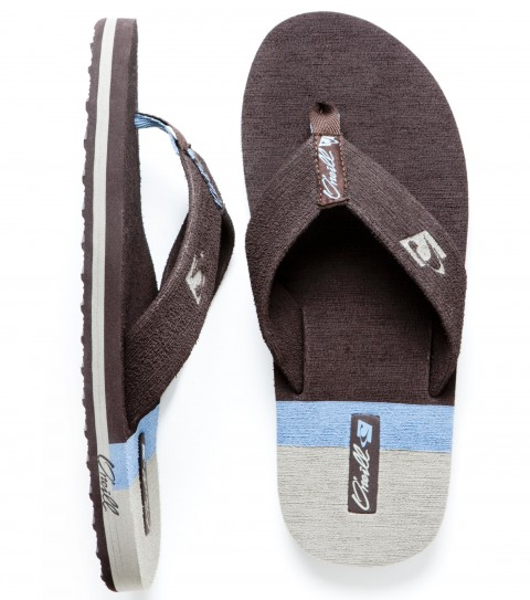 Entertainment O'Neill Gringo Sandals.  Brushed EVA upper with inset EVA stripes, anatomically constructed arch support, brushed EVA footbed with EVA inset logo in heel, debossed and screen printed logos, EVA outsole. - $12.99