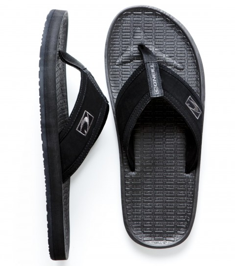 Entertainment O'Neill Koosh 2 Sandals.  Synthetic nubuck leather upper, neoprene lining, contoured compression molded EVA footbed with arch support, embroidered logo, rubber sponge outsole. - $16.99