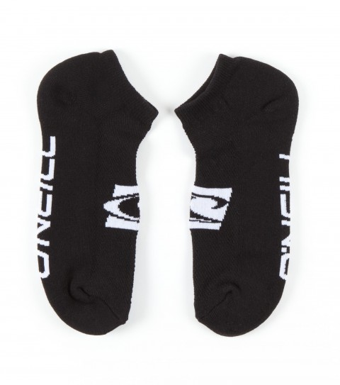 Surf O'Neill Walk Off Socks.  100% Acrylic knit.  3 pack no-show sock with pique section for breathability, jacquarded wave and O'Neill logo. - $10.99