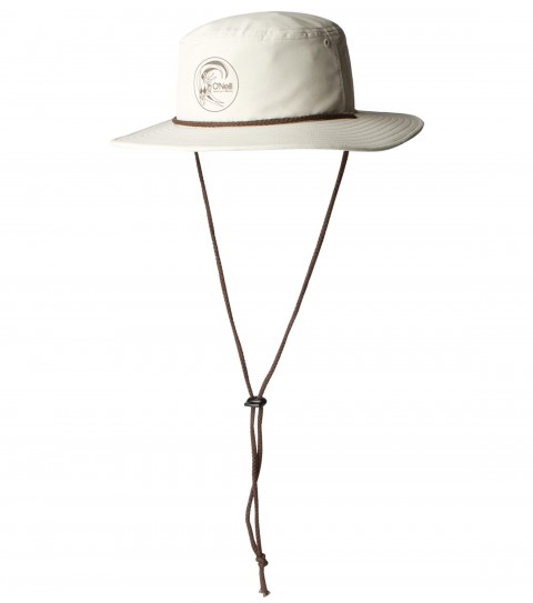 Surf O'Neill Draft Surf Hat.  Lightweight bucket hat with direct screenprint drawcord detail. - $24.50