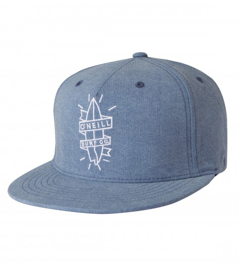 Surf O'Neill Washed Hat.  J-fit flexfit hat with front panel novelty satin stitch embroidery; rear direct satin stitch embroidery. - $28.00