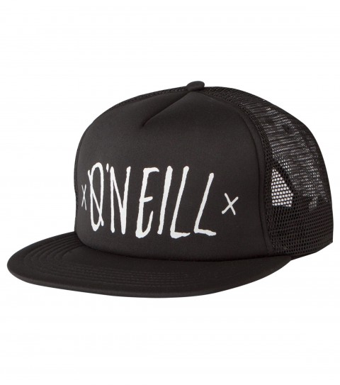 Surf O'Neill Triple Threat Trucker Hat.  Screened trucker cap with rear woven label. - $11.99
