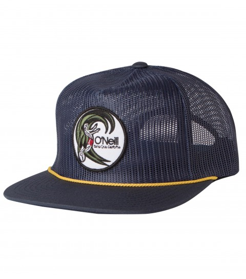 Surf O'Neill Mens Breezy Hat. All mesh trucker hat with marrowed edge embroidered twill patch at front; top of visor rope; and rear woven label. - $15.99