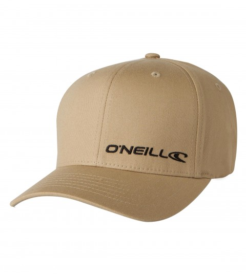 Surf O'Neill Lodown Hat.  X-fit flexfit cap with direct satin stitch embroidery on front panel, rear direct satin stitch logo. - $17.15