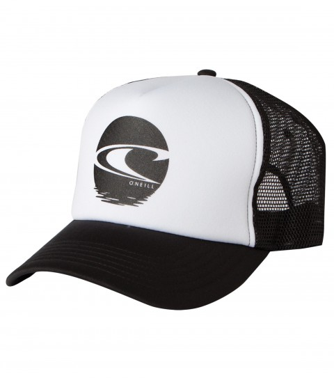 Surf O'Neill Rising Snapback Hat.  Foam front trucker with plastisol screenprint; rear woven label. - $8.99