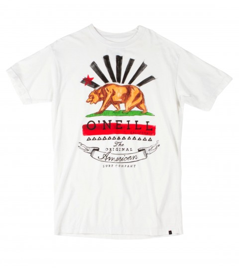 Surf O'Neill mens California premium 30 singles; modern fit t-shirt. - $22.00