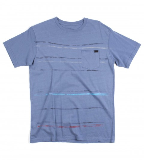 Surf O'Neill Trivial Shirt.  100% Ringspun Cotton.  30 singles modern fit garment dyed pocket tee with attached clip label and softhand screenprint. - $20.99