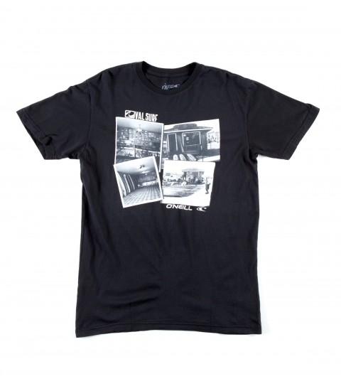 Surf O'Neill Val Surf Tee.  100% Cotton.  Screenprint.  O'Neill Val Surf collaboration tee. - $22.00