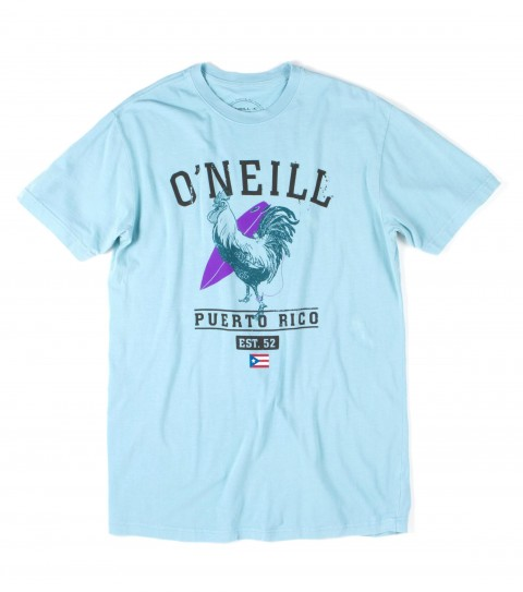 Surf O'Neill Commonwealth Tee.  100% Cotton.  Screenprint. - $22.00