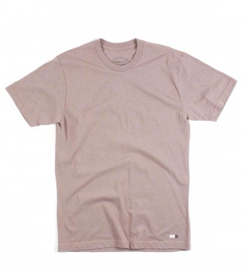 Surf O'Neill Tamarack Tee.  50% Cotton / 50% Poly.  30 singles modern fit heather tee with attached woven label. - $22.00