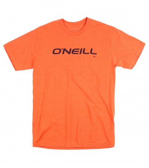 Surf O'Neill Only One Tee.  50% Cotton / 50% Poly.  30 singles modern fit heather tee with softhand screeenprint. - $13.99