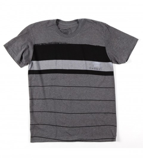 Surf O'Neill Comrad Shirt.  50% Cotton / 50% Poly.  30 singles modern fit heather tee with softhand screeenprint. - $15.99