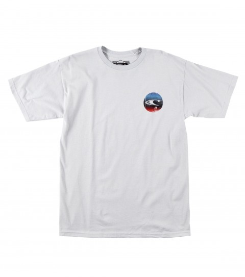 Surf O'Neill Riser Tee.  100% Cotton.  20 singles classic fit tee with softhand screenprint. - $16.99