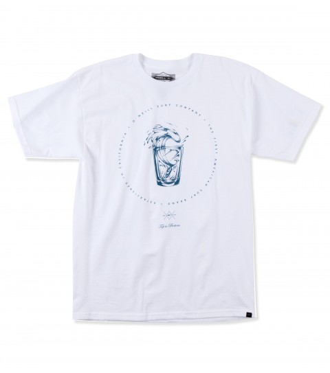 Surf O'Neill Austin Tee.  100% Cotton.  Screenprint. - $20.00
