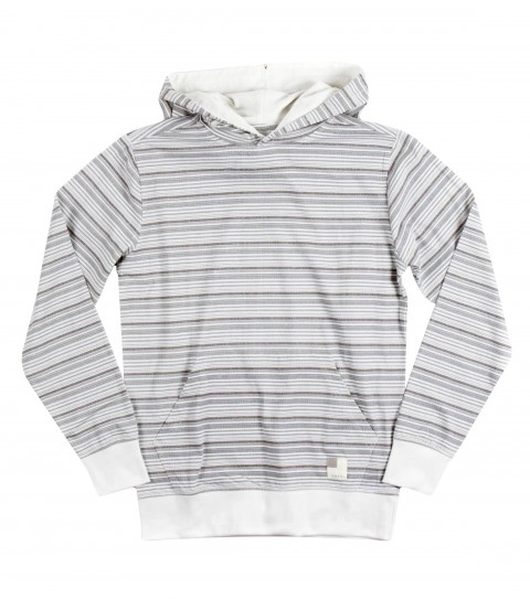 Surf O'Neill Boys Busted Hooded Shirt. 100% Cotton jersey. Printed stripe hooded pullover with garment wash. Standard fit; kangaroo pocket; logo labels. - $46.00