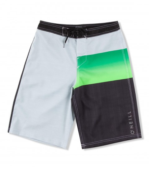 Surf O'Neill Boys Jordy Freak Boardshorts.  Epicstretch boardshort features superfly closure; locking drawcord; contrast fabric accents; back pouch pocket and screened logos. - $48.00