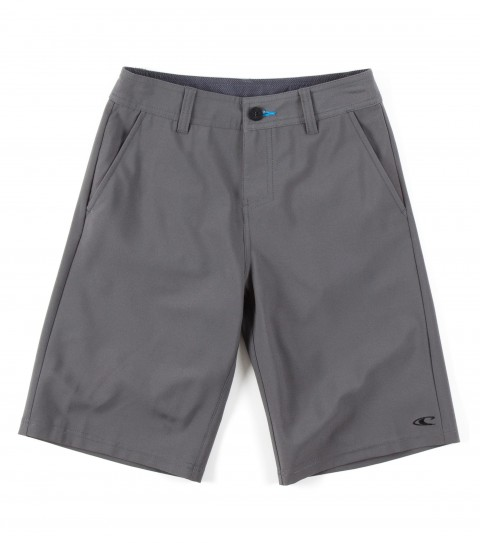 Surf O'Neill Boys Loaded Hybrid Shorts.  Epicstretch; boardshort features zipper fly; front pockets; backpockets; embroidered and screened logos. - $36.99