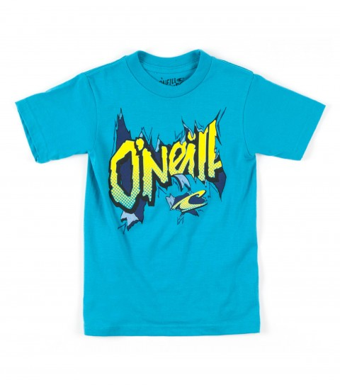 Surf O'Neill Boys Breakout Tee.  100% Cotton.  20 singles classic fit tee with softhand screenprint. - $18.00