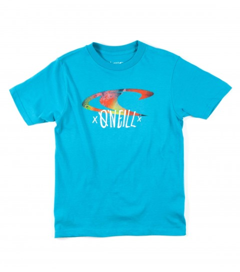 Surf O'Neill Boys Lofi Tee.  100% Cotton.  20 singles classic fit tee with softhand screenprint. - $18.00